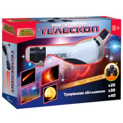 Телескоп Easy Science портативный (44008)