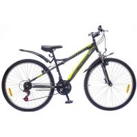 "Велосипед Discovery 29"" TREK AM 14G DD St черно-серо-зеленый 2016 (OPS-DIS-29-011-1)"