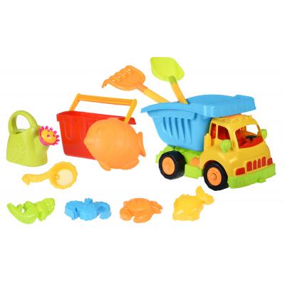 same toy 11ед Грузовик желтая кабина/синий кузов 968Ut-2