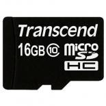 Карта памяти Transcend 16Gb microSDHC class 10 Фото