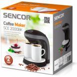 Кофеварка Sencor SCE2000BK Фото 2