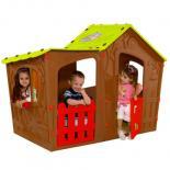 Игровой домик Keter Magic Villa Play house Terracotta Фото