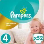 Подгузник Pampers Premium Care Maxi (8-14 кг) 52 шт Фото