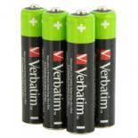 Аккумулятор Verbatim AAA 1000mAh * 4 Фото 1