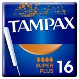 Тампоны Tampax Super Plus Duo с апликатором 16 шт Фото