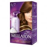 Краска-мусс для волос Wellaton стойкая 6/7 Шоколад Фото