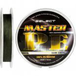 Шнур Select Master PE 100m 0.12мм 15кг темн.-зел. Фото