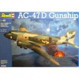 Сборная модель Revell Тяжелый ударный самолет AC-47D Gunship 1:48 Фото