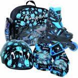 Роликовые коньки Tempish UFO Baby skate черные 26-29 Фото
