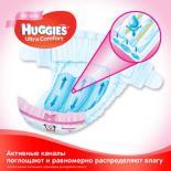 Подгузник Huggies Ultra Comfort 4 Jumbo для девочек (7-16 кг) 50 шт Фото 2
