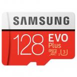 Карта памяти Samsung 128GB microSD class 10 EVO PLUS UHS-I Фото