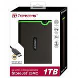 """Внешний жесткий диск Transcend 2.5"""" 1TB Фото 2"""