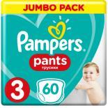 Подгузник Pampers трусики Pampers Pants Maxi Размер 3 (6-11кг), 60 ш Фото