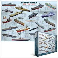 Пазл Eurographics Корабли 2-й Мровой войны Фото