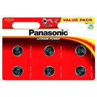 Батарейка PANASONIC CR 2032 * 6 LITHIUM Фото