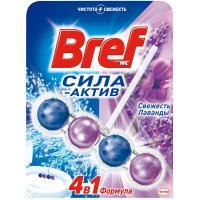 Туалетный блок Bref Сила Актив Свежесть Лаванды 50 г Фото