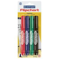 Маркер Centropen Flipchart 8550 2,5 мм, round tip, SET 4colors (BLi Фото
