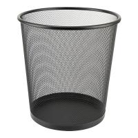 Корзина для бумаг Axent Wire mesh, black 260x280мм Фото