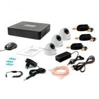 Комплект видеонаблюдения Tecsar 3IN DOME Фото