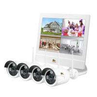 Комплект видеонаблюдения Partizan Outdoor Wireless Kit LCD 1MP 4xIP Фото