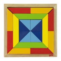 Пазл Goki Мир форм-квадрат Фото