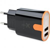 Зарядное устройство Vinga Display Wall Charger 2xUSB black Фото