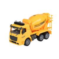 Спецтехника Same Toy инерционная Truck Бетономешалка желтая со светом и Фото