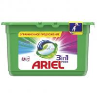 Капсулы для стирки Ariel 3 в 1 Color 13 капсул х 6 уп (78 стирок) Фото