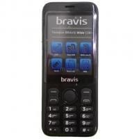 Мобильный телефон Bravis C281 Wide Black Фото