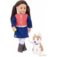 Лялька Our Generation Лесли с собакой 46 см Фото