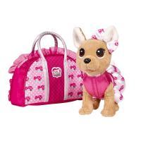 Мягкая игрушка Simba Chi Chi Love Чихуахуа Розовая мода с сумочкой Фото