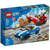 Конструктор LEGO City Police Арест на шоссе 185 деталей Фото