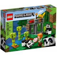 Конструктор LEGO Minecraft Питомник панд 204 детали Фото