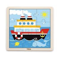Пазл Viga Toys Корабль Фото