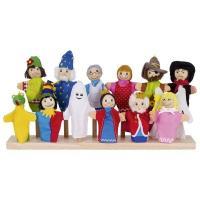 Игровой набор Goki Кукла для пальчикового театра Вампир Фото