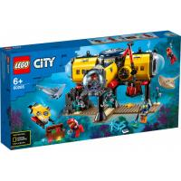 Конструктор LEGO City Океан: исследовательская база 497 деталей Фото