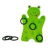 Игровой набор Viga Toys Лягушонок с кольцами Фото