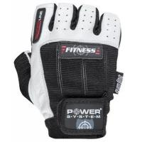 Перчатки для фитнеса Power System Fitness PS-2300 S Black/White Фото