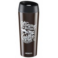 Термокружка Ardesto Coffee Time Cup 450 мл Brown Фото