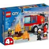Конструктор LEGO City Fire Пожарная машина с лестницей 88 деталей Фото