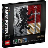 Конструктор LEGO Art Гарри Поттер Гербы Хогвартса 4249 деталей Фото
