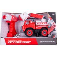 Конструктор Diy Spatial Creativity Пожарный кран с электродвигателем Фото