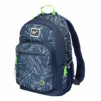 Рюкзак шкільний Yes T-57 Strokes синий Фото