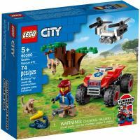 Конструктор LEGO City Спасательный вездеход для зверей 74 деталей Фото