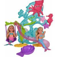 Кукла Simba Эви Морские развлечения с 2 куклами и аксессуарами Фото