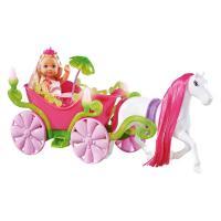 Кукла Simba Эви и сказочная карета с конем Фото