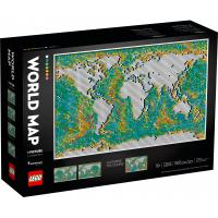 Конструктор LEGO Art Карта мира 11695 деталей Фото