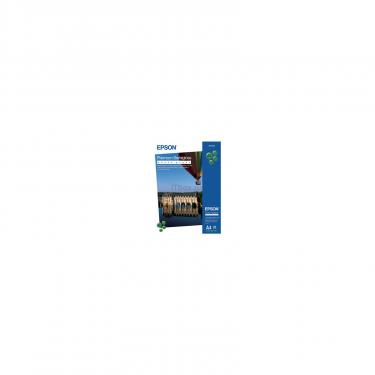 Папір EPSON A4 Premium Semigloss Photo Paper (C13S041332) - фото 1