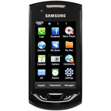 Мобільний телефон GT-S5620 (Monte) Deep Black Samsung (GT-S5620DKJ) - фото 1