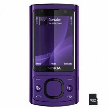 Мобильный телефон 6700 slider Purple Nokia (002R9P3) - фото 1